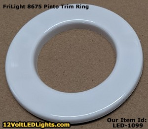 Trim Ring (Bezel) nring8675 for FriLight 8675 Pinto Dome Light.